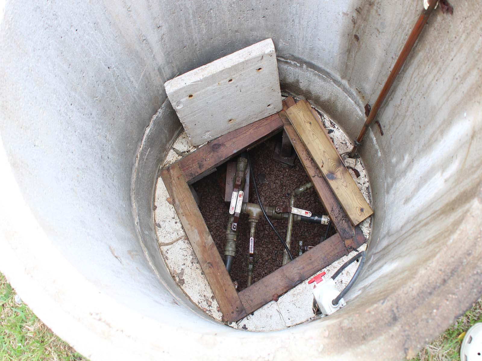 Brunnsvattenrengöring i sommarstuga